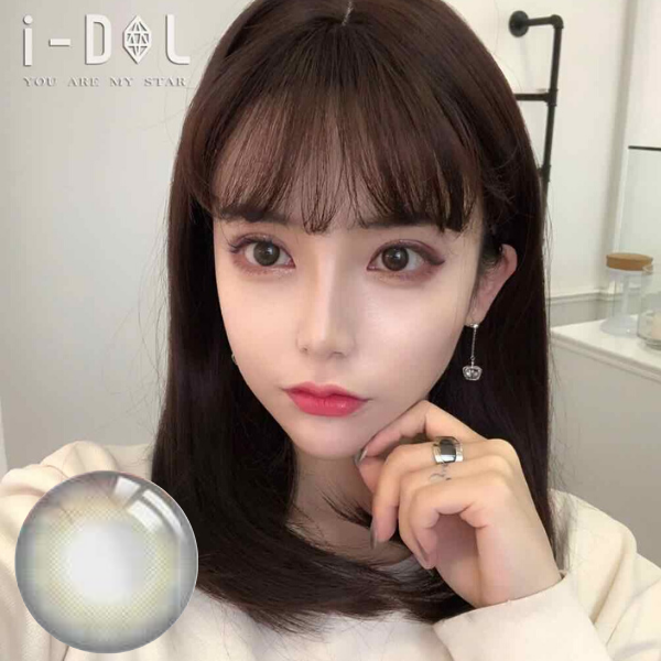I-DOL LOVEME Black Silicone Hydrogel Contact Lenses