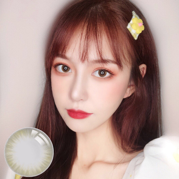I-DOL YUKI Brown Silicone Hydrogel Contact Lenses
